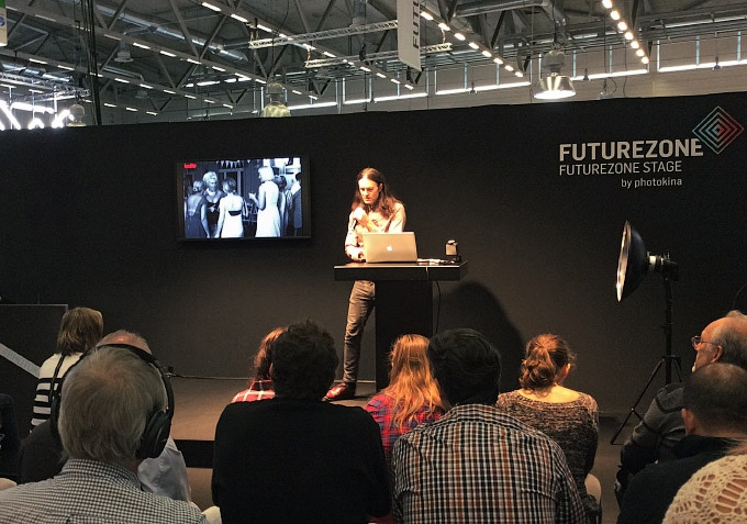 The First Public Demonstration at Photokina 2016
