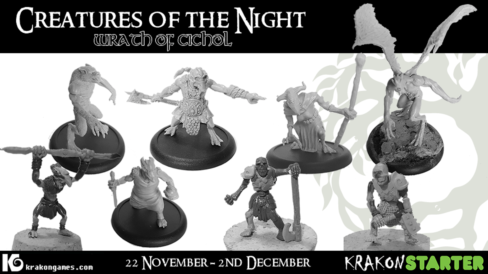 This is the first chapter of the Creatures of the Night series, delivering the first characters of the Fomorians and Partholóin.