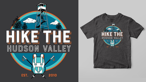 Hike the Hudson Valley Shirts, Hoodies and Stickers