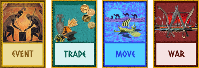 Event, trade, move/war phases