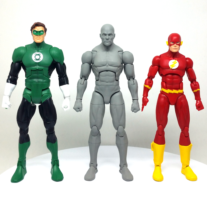 Height Comparison with DCUC and DC Icons figures