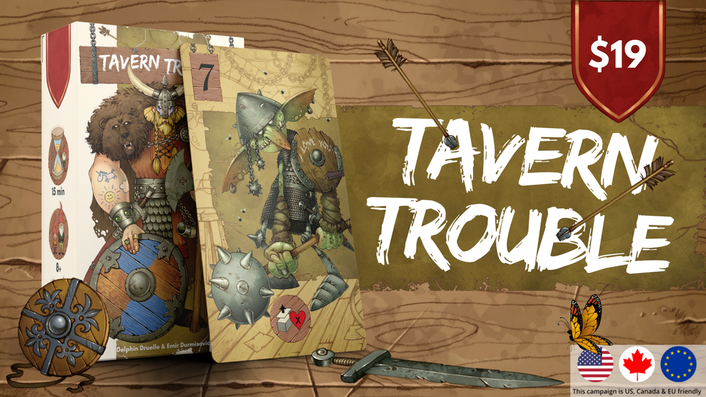 Tavern Trouble, the smashing fantasy card game for everyone project video thumbnail