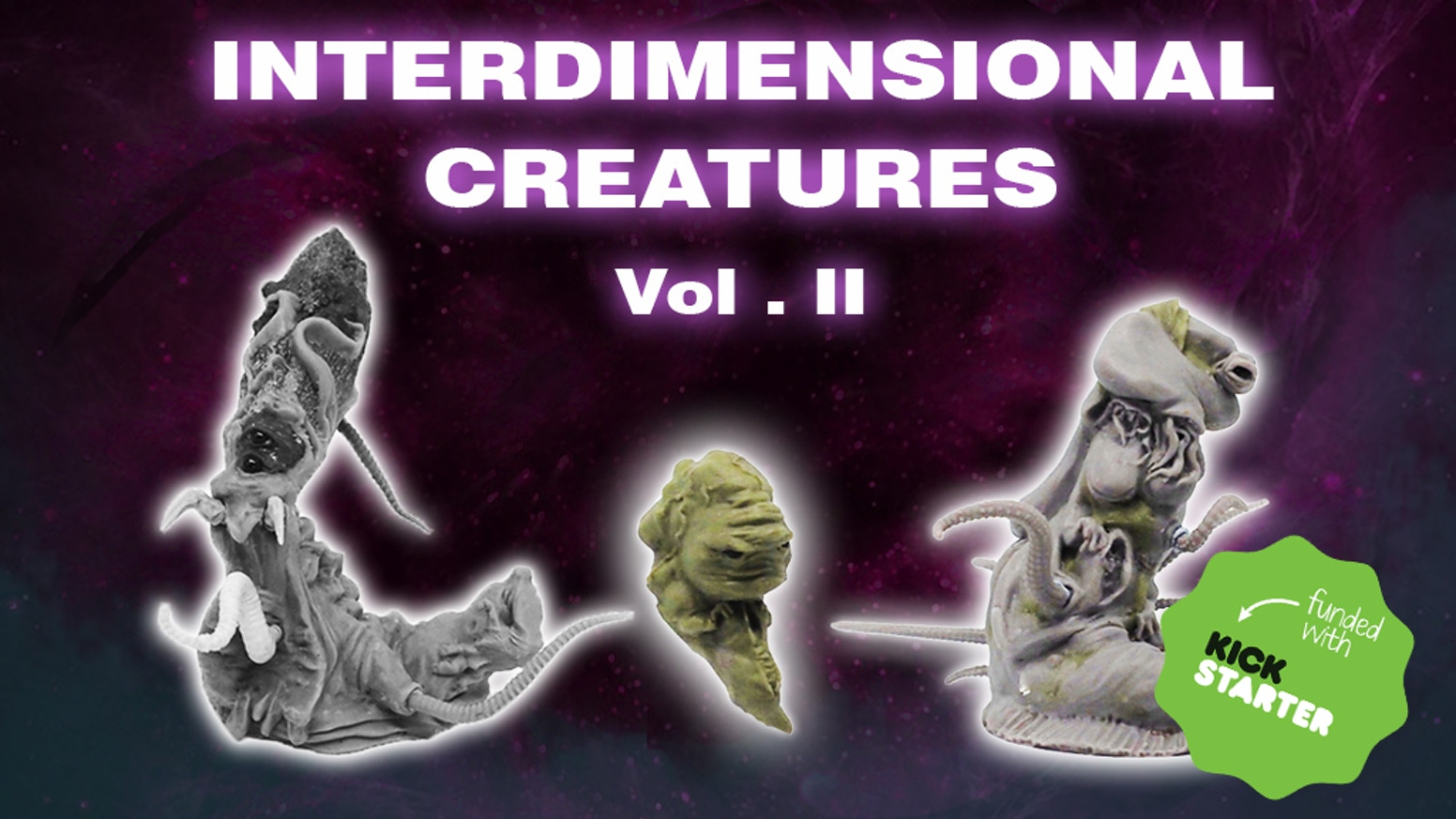 Interdimensional Creatures Vol.II