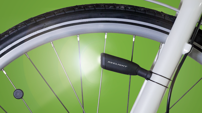 No batteries, no friction! Just easily-mountable, Scandinavian-designed bike lights, powered by 100% magnetic energy.