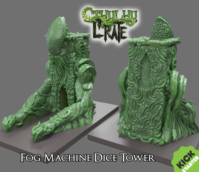 The Cthulhu Crate Fog Dice Tower