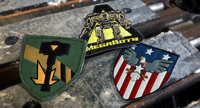 Epic new iron-on patches and stickers!