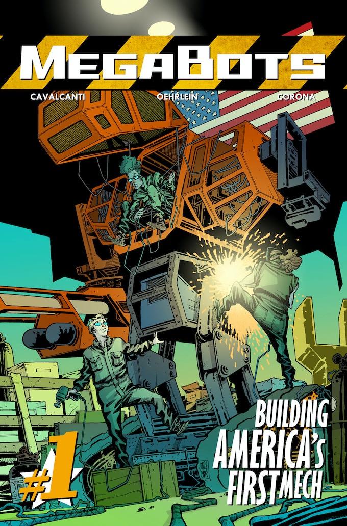 MegaBots #1, Building America's First Mech!