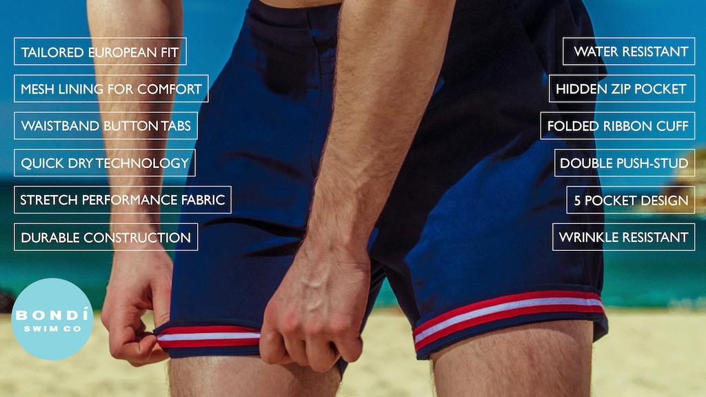 Bondi Swim Co || The World's First All Day Swim Shorts project video thumbnail