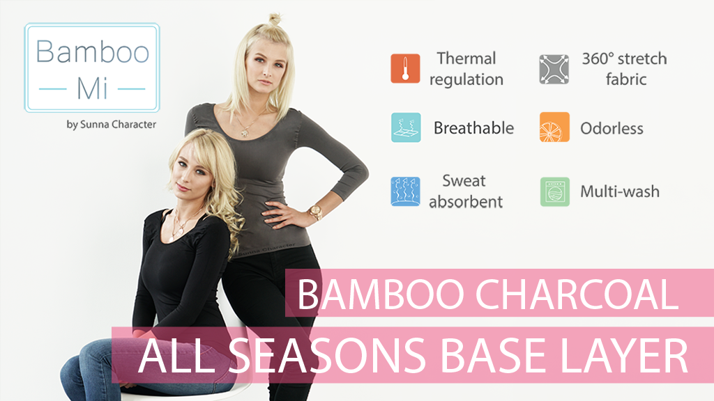 Bamboo Charcoal All Seasons Base Layer