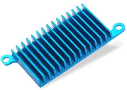 Push-Pin Heatsink with Thermal Tape