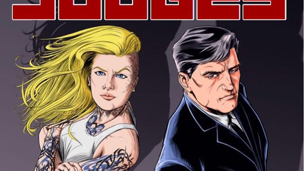 Project image for Judges (A Neo Noir Crime Comic Book)
