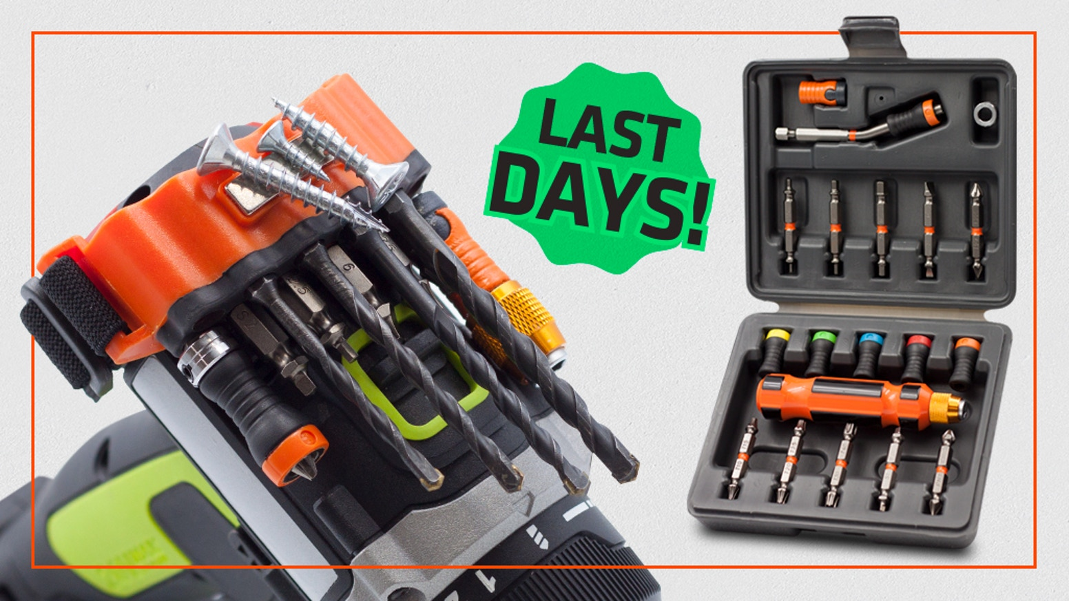 The ultimate experience for your DIY projects, unexpected repairs and maintenance needs. Drill, Drive, or Nail like a Pro.