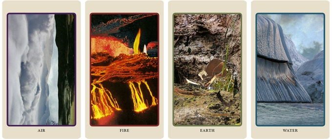 The Minchiate inspired Elements cards
