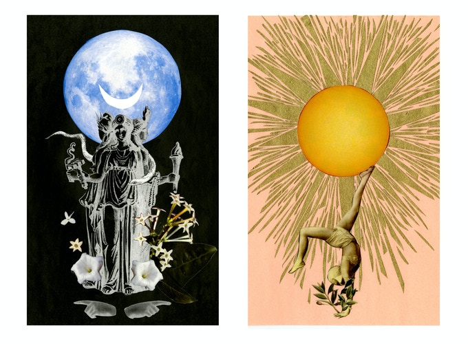 the prints of The Sun and Moon available as a reward