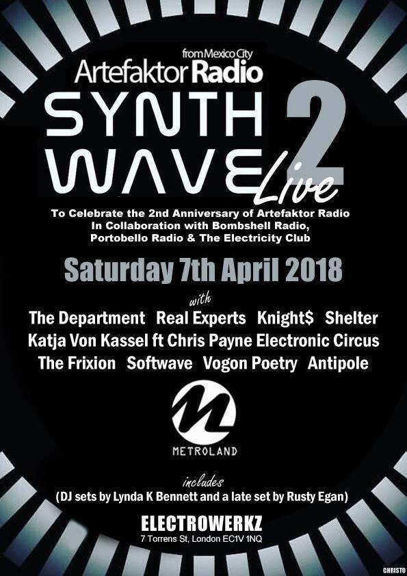 Synthwave Live vol.2 Artefaktor Radio Anniversary
