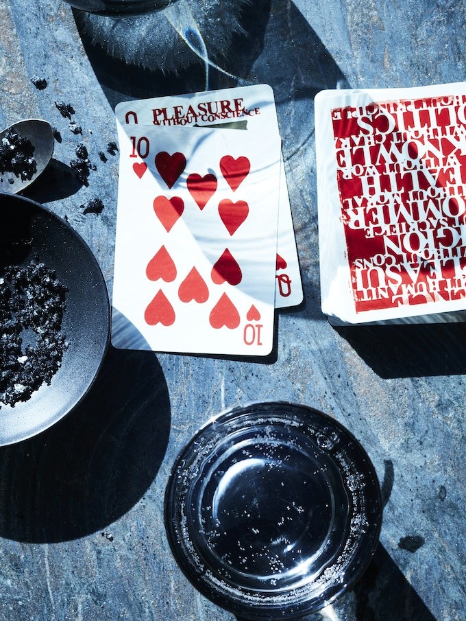 In developing the game I've found that everyone has their own understanding of the rules of Rummy - but no matter what version you know (or used to know), you'll be able to pick up and play Sin Rummy in less than a minute.