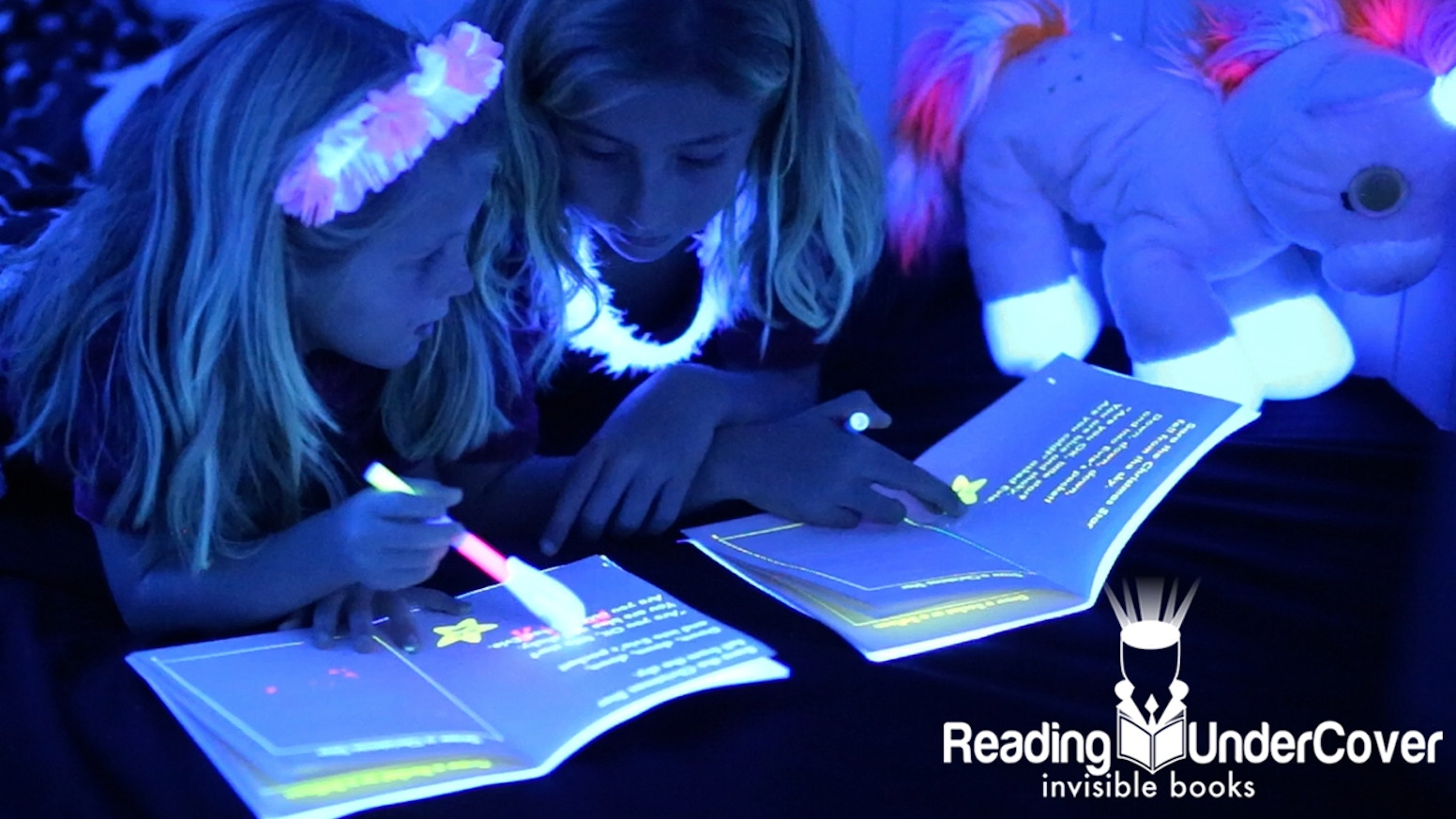 The world's first kids activity book in invisible ink. With great stories & a top secret uv pen, back us now for kids Christmas books!