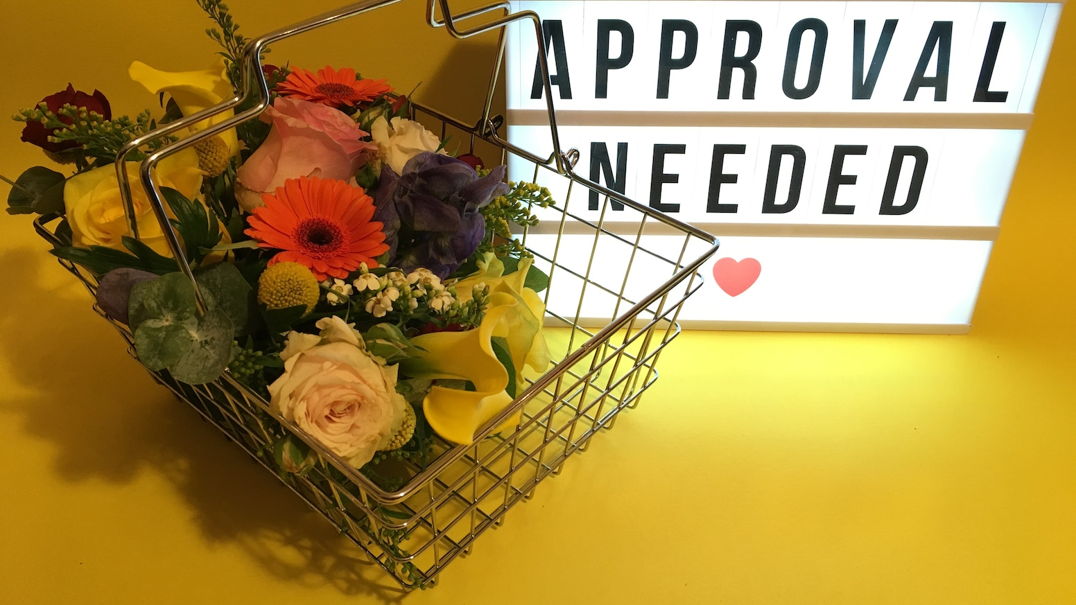 Approval Needed by Karen Anstee (Precious Hack Productions