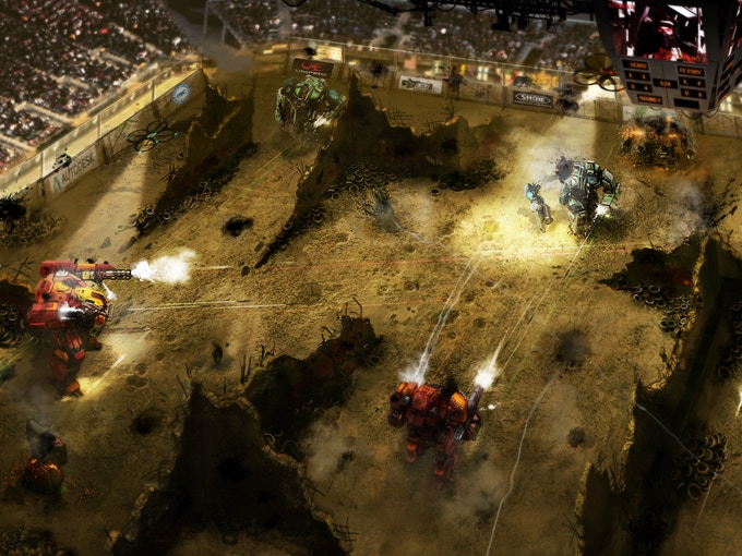 Witness history as giant robots destroy each other LIVE, in front of your eyes.