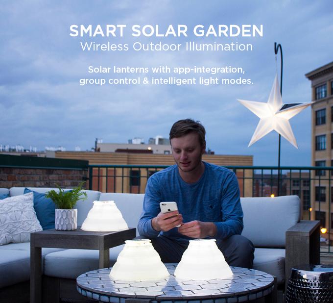 Luminaid Smart Solar Garden Wireless Outdoor Illumination