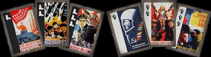 Propaganda Laden Power Cards