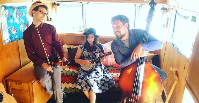 From Left. Stephen Spies, Kristen Lynn & Clayton Hamburg