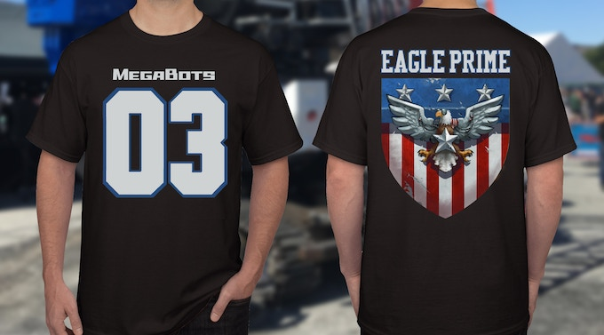 Giant Robot jersey shirts HAVE ARRIVED! Rep the champ Eagle Prime with this SWEET shirt!