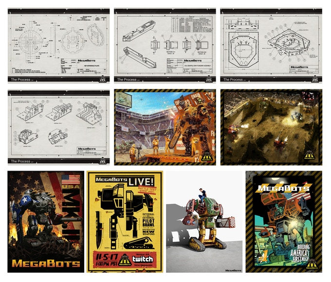 We have TEN epic posters to choose from!
