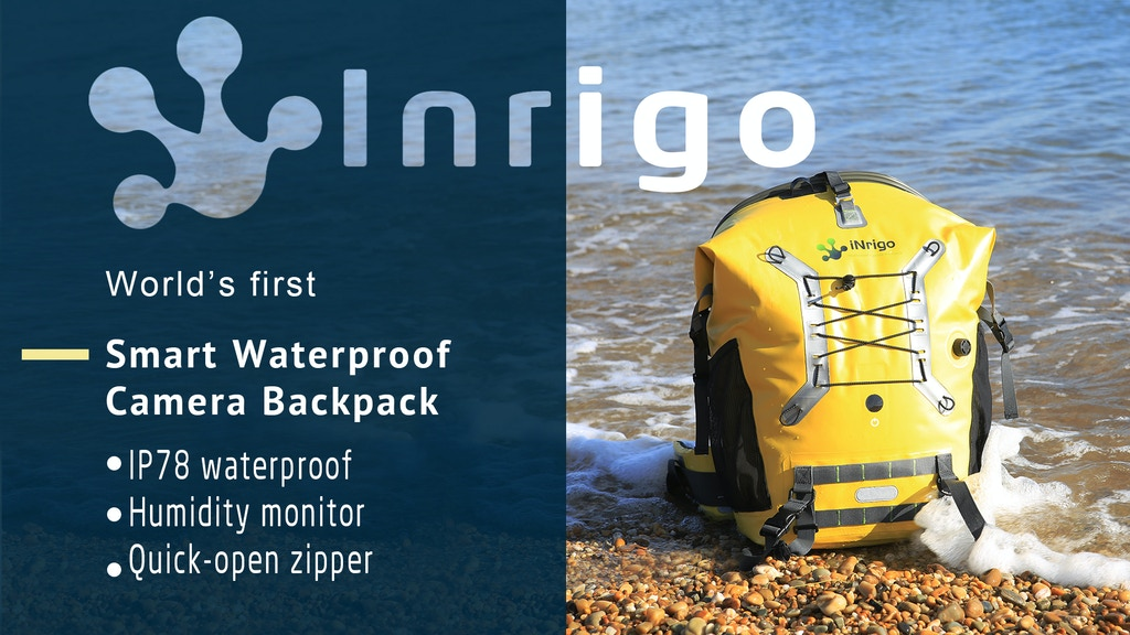 Inrigo Camera Bag | Intelligently Waterproof project video thumbnail