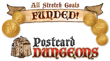 Postcard Dungeons