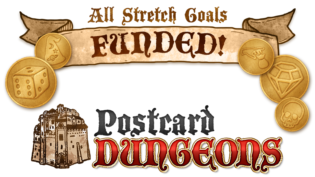 Postcard Dungeons project video thumbnail