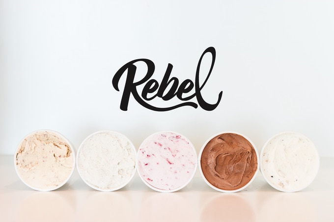 Rebel Ice Cream | Low Carb, High Fat, Keto, No Sugar Added