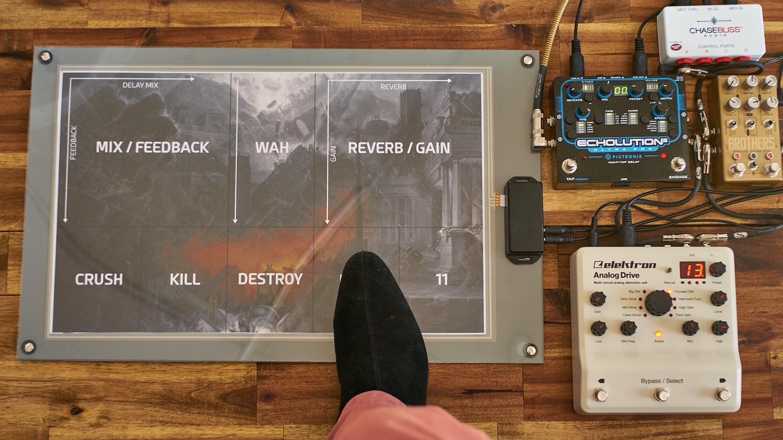 Poly Expressive Midi Foot Control Dont Switch By Chroma Picture Of How To Make A Circuit Board Guitar Pick Want One Large Xy Controller 50 Switches Or Anything In Between Just Print Your