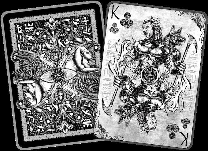 Ancient Egypt Art Playing Cards By Timothy Kremer Kickstarter