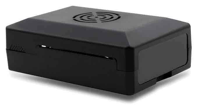 LoveRPi Active Cooling Media Center PC Case