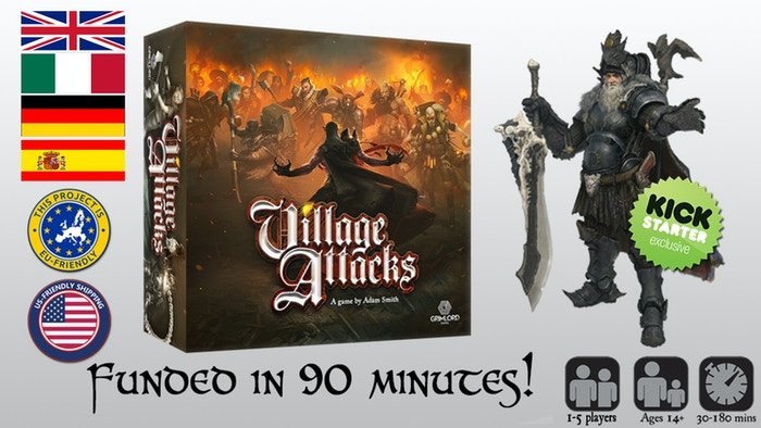 An epic 1-5 player co-op game where you play as infamous creatures of folklore, defending your castle from the local villagers!