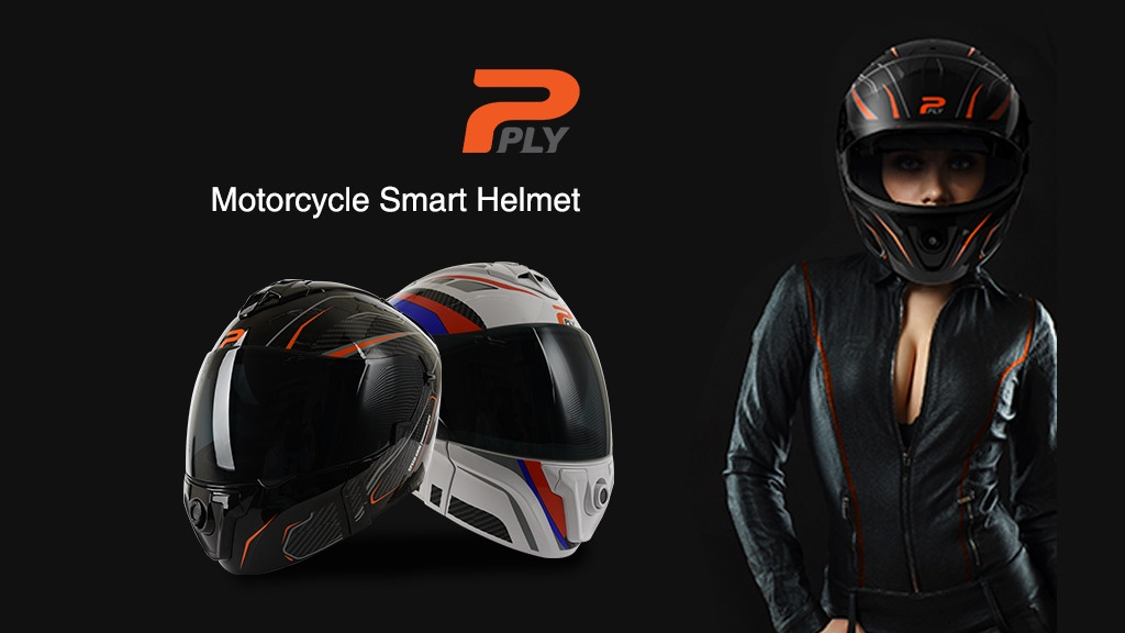 PLY: Embedded Smart Technology Helmet project video thumbnail