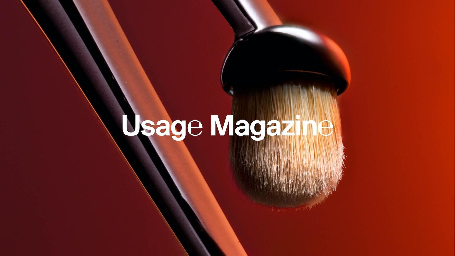 usage magazine a magazine about beauty and cosmetics by usage