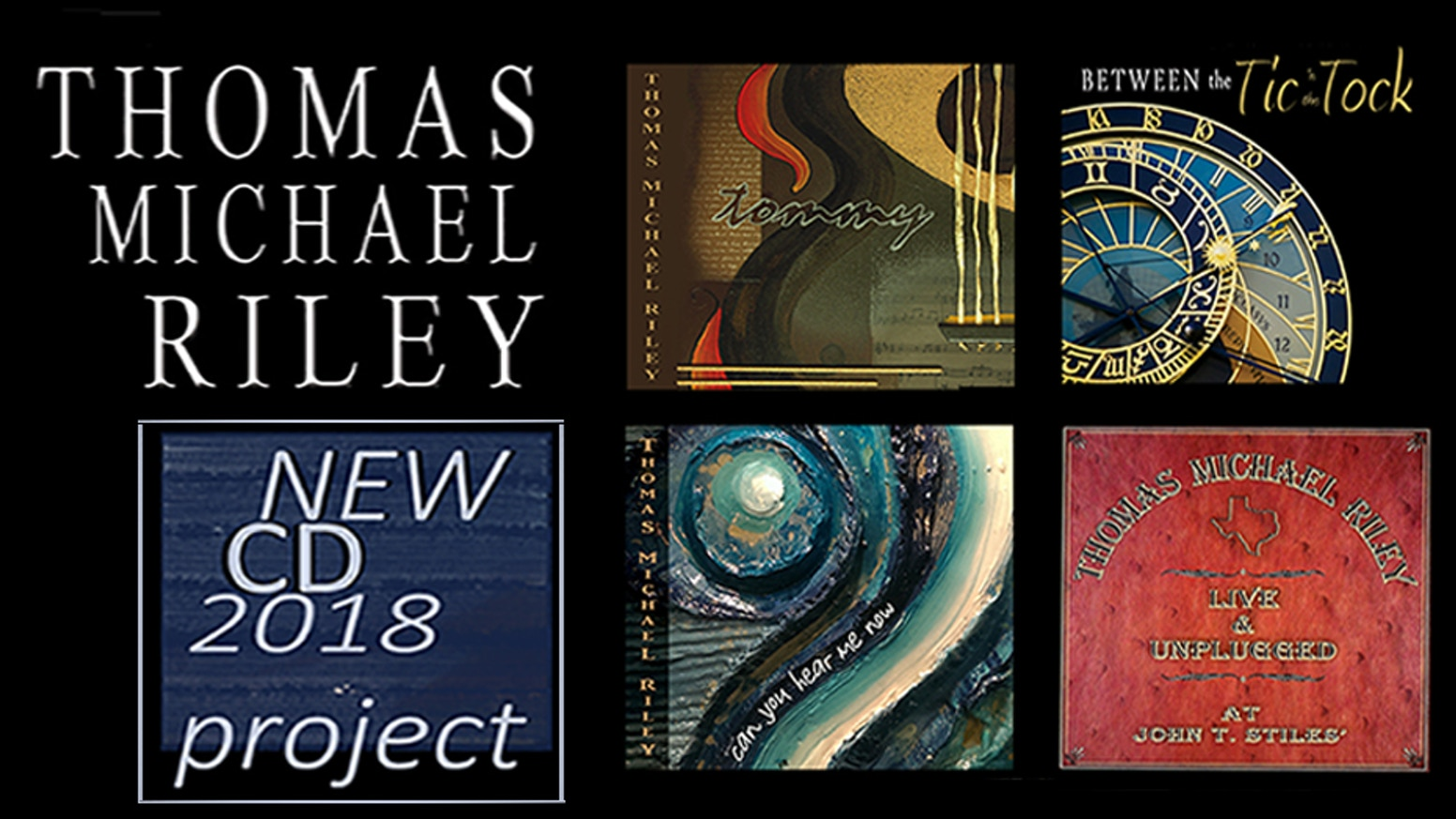 Thomas Michael Riley's New CD