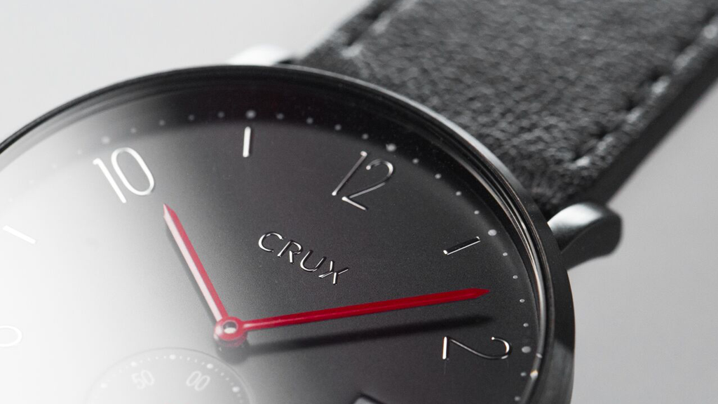 CRUX Watches: Quality, stylish watches that give 50% back project video thumbnail
