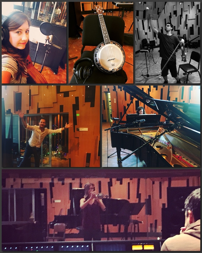 Studio Time with; Kristen Lynn, Stephen Spies, Johnny Sneed, Nico Essig & Kate Bacich