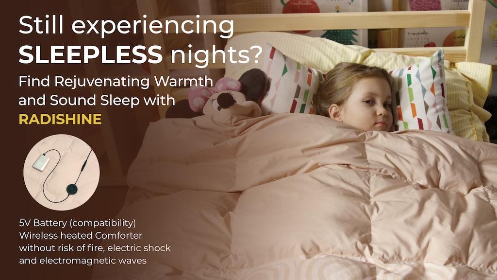 Radishine: Wireless Smart Heated Comforter for Restful Sleep project video thumbnail