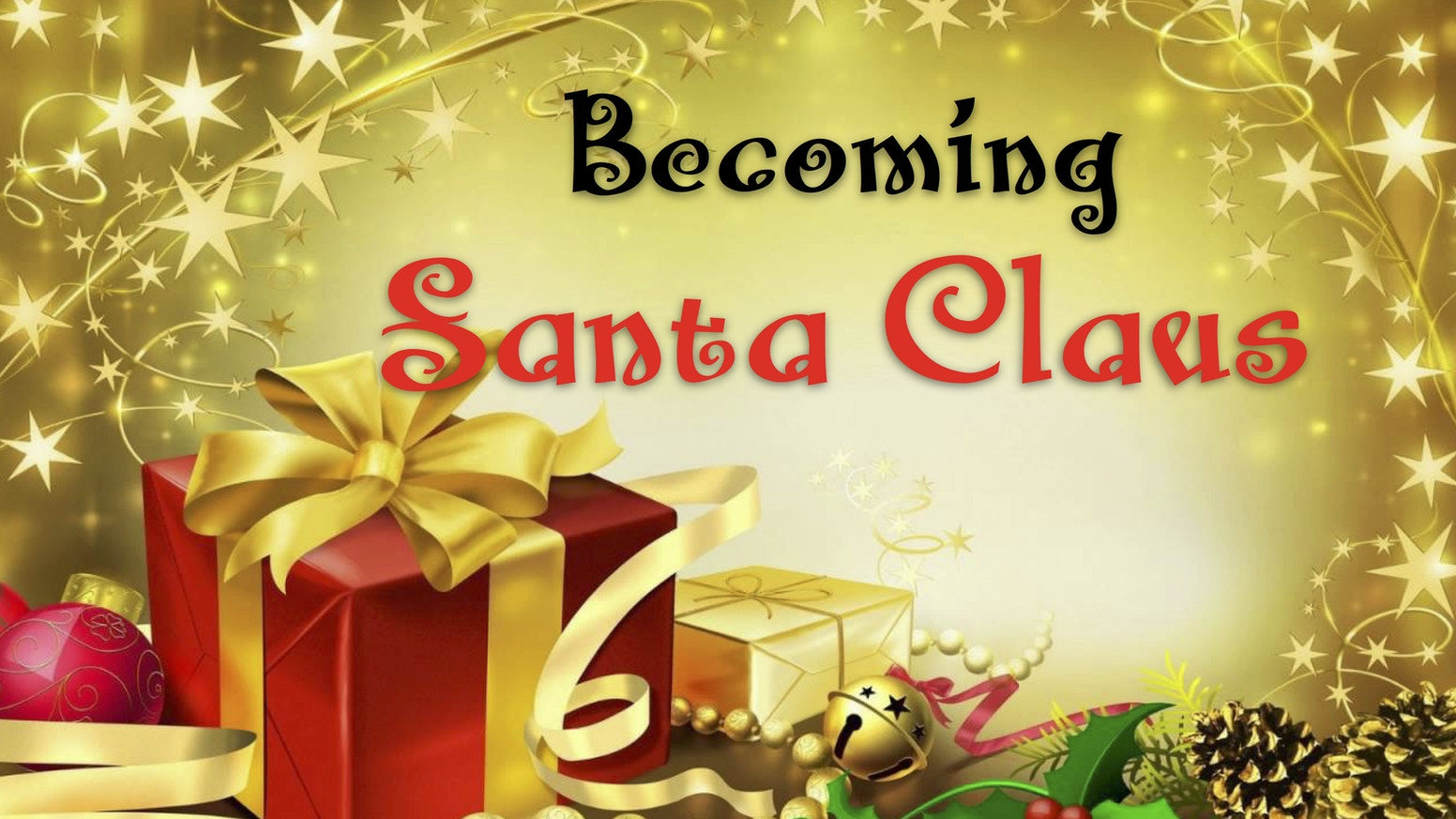 Becoming santa claus by santa jason kickstarter its time to become santa in 2018 assist me in bringing joy to others by m4hsunfo