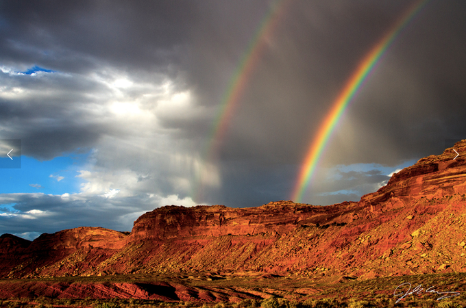 Double Rainbow (Image credit: Josh Ewing)
