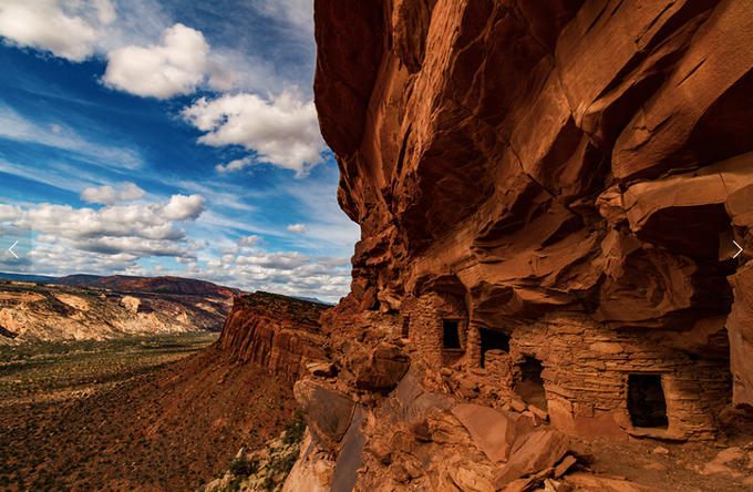 Well preserved dwelling on Cedar Mesa (Image credit: Josh Ewing)