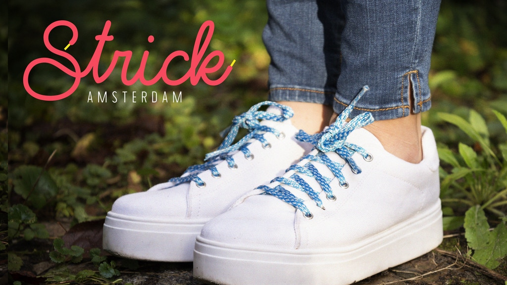 STRICK Amsterdam: First in Making 100% Sustainable Shoelaces project video thumbnail
