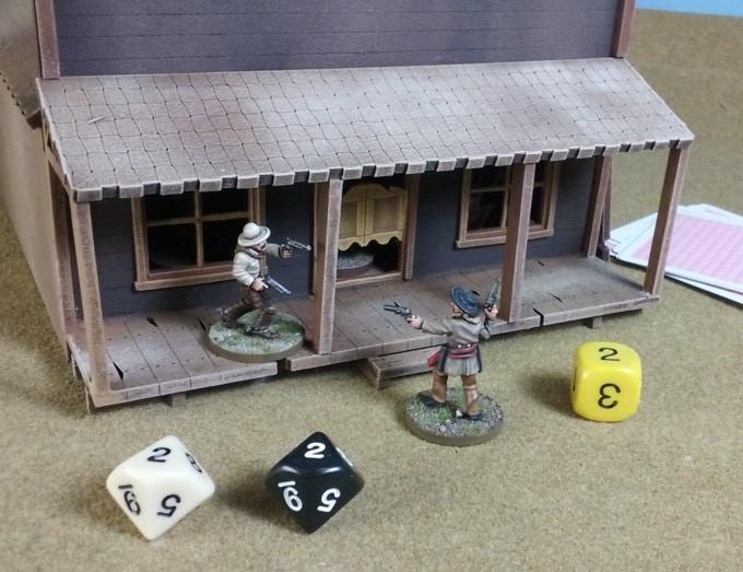 Short range skirmish