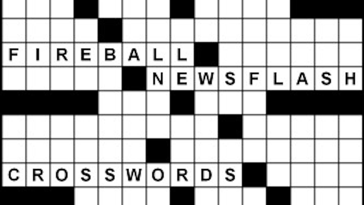 2018 19 Fireball Newsflash Crosswords By Peter Gordon Kickstarter