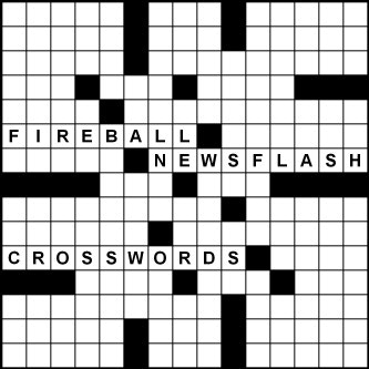 2018-19 Fireball Newsflash Crosswords by Peter Gordon