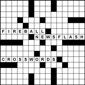 2018-19 Fireball Newsflash Crosswords by Peter Gordon